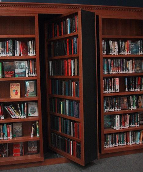 bookshelf gun cabinet plans